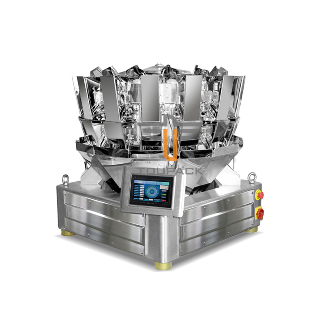 SUS 304 Stainless Steel Nuts Blended Products Multihead Weigher